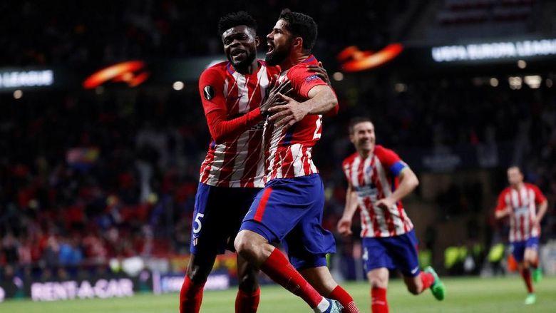 Menyingkirkan Arsenal Atletico Maju ke Final Liga Europ