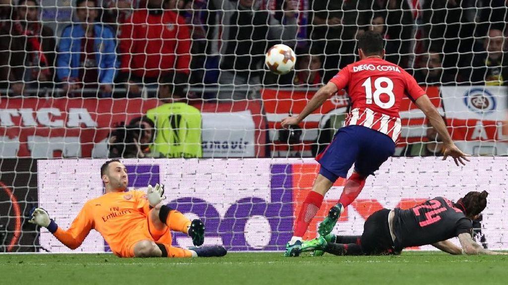 Atletico Bikin Arsenal Mati Kutu di Wanda Metropolitano