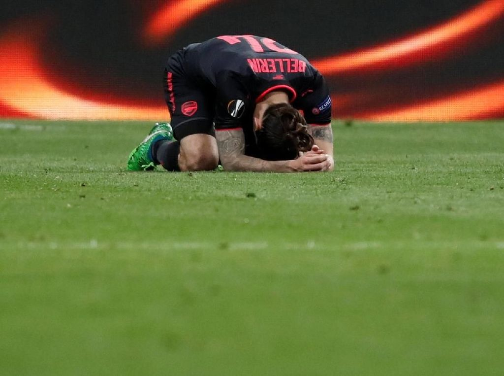 Tersingkir dari Liga Europa, Arsenal Jadi Bahan Olok-olok