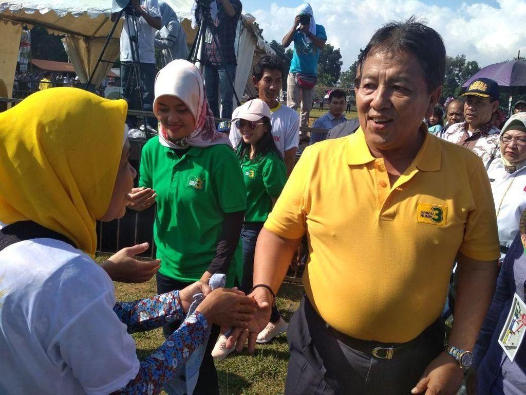 Unggul di Pilgub, Arinal: Pak Jokowi Beri Nasihat dan Saran