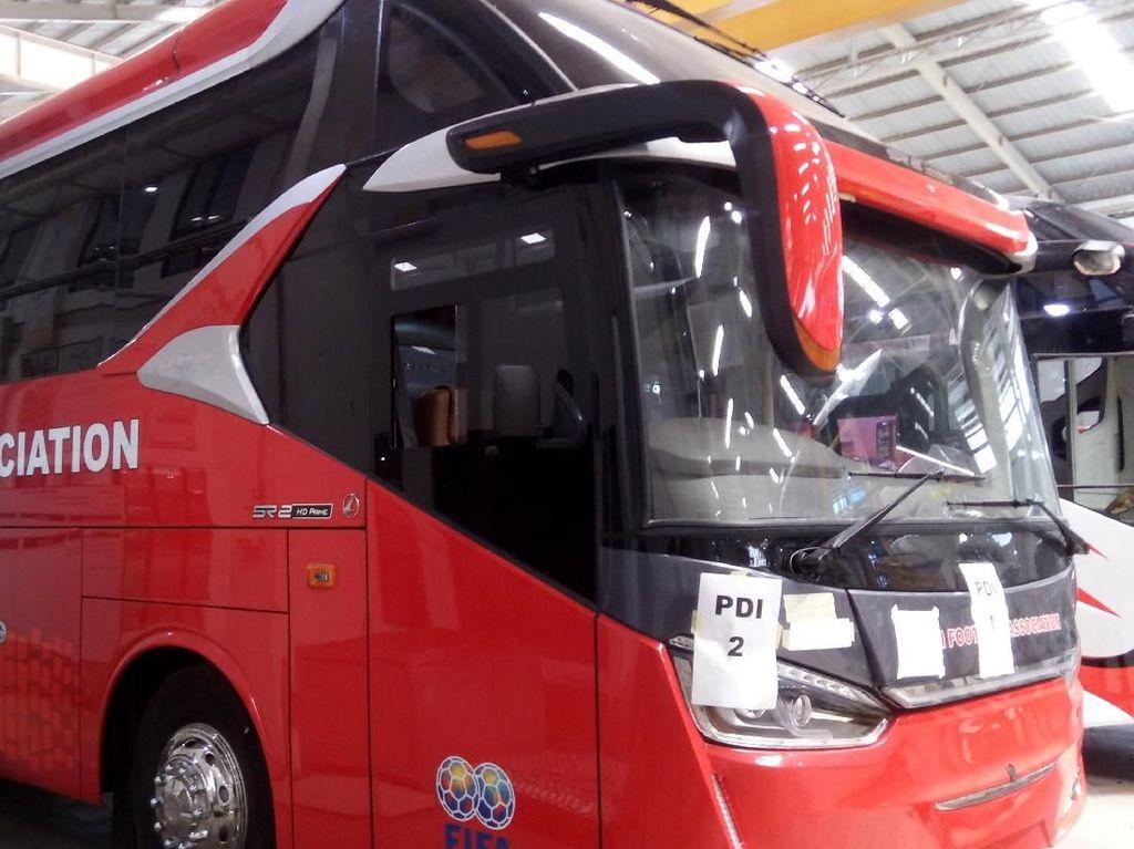 Bus Buatan Semarang Dipakai Kesebelasan Fiji