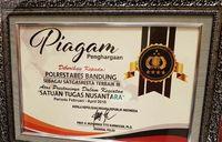 Polrestabes Bandung Sabet Predikat Terbaik se-Indonesia