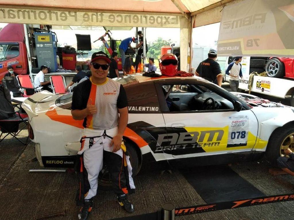 Drifter ABM Motorsport Beraksi di Pondok Cabe Akhir Pekan Ini