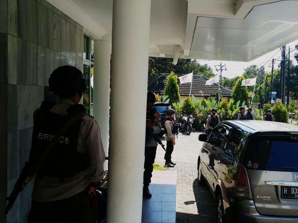 Polri Persilakan Gerindra Lapor Propam soal Brimob Datangi DPC Jateng