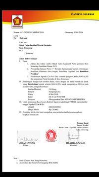 Gerindra Jateng Tepis Surat Instruksi Pakai Kaus