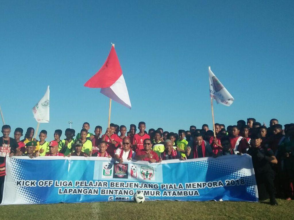 Kick Off Liga Berjenjang Piala Menpora 2018 Dimulai dari Atambua