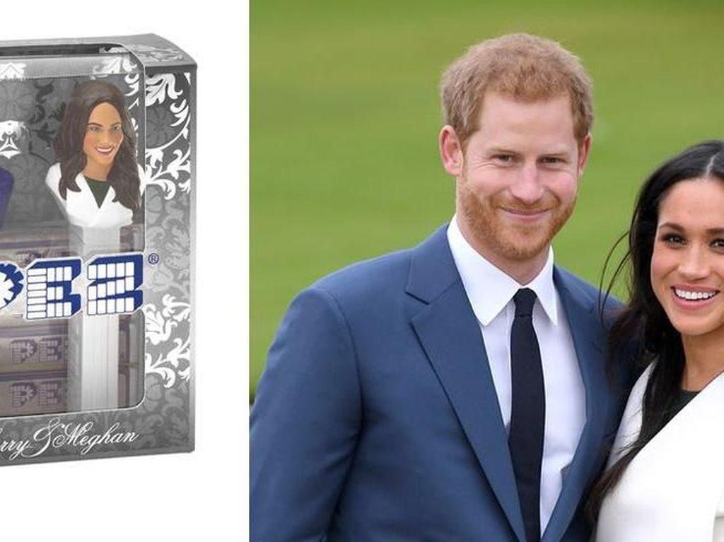 Sambut Royal Wedding, PEZ Bikin Permen Bentuk Pangeran Harry dan Meghan Markle