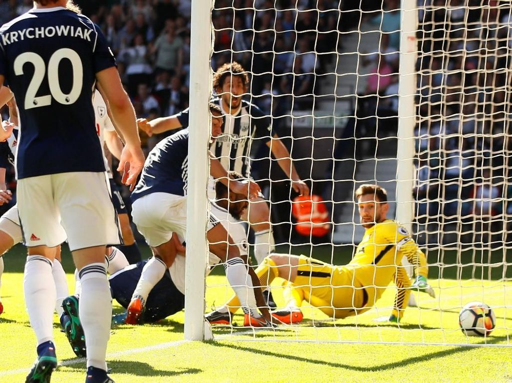 Menang Dramatis atas Tottenham, WBA Jaga Peluang Lolos Degradasi