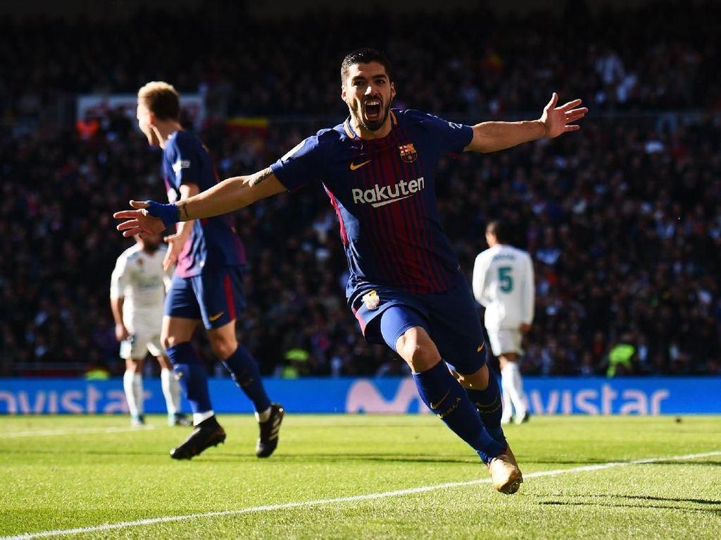 Suarez Sedang Menghantui Madrid