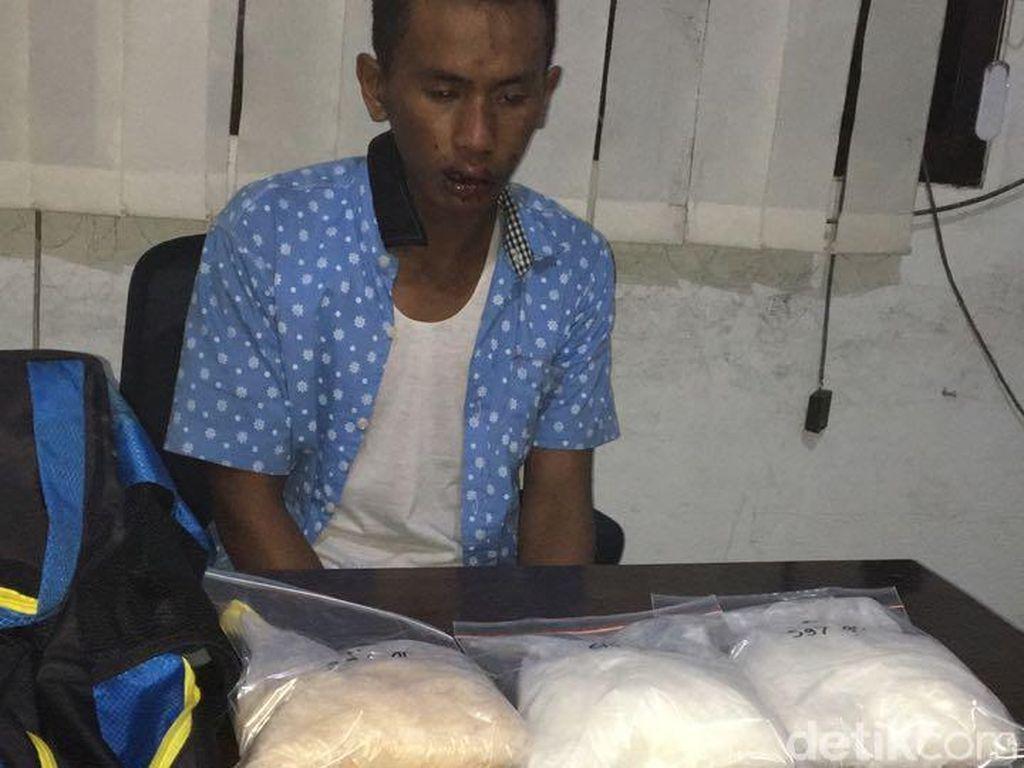 3,2 Kg Sabu Asal Malaysia Gagal Masuk ke Madura
