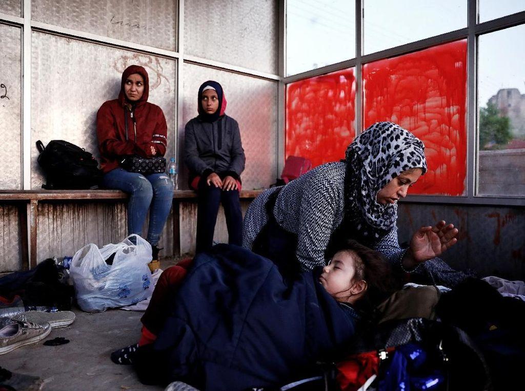 AS Perpanjang Status Pelindungan Sementara Ribuan Imigran Suriah