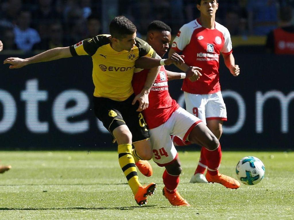 Dortmund dan Hoffenheim Kalah, Rebutan Posisi 3-4 Bundesliga Panas Sampai Akhir