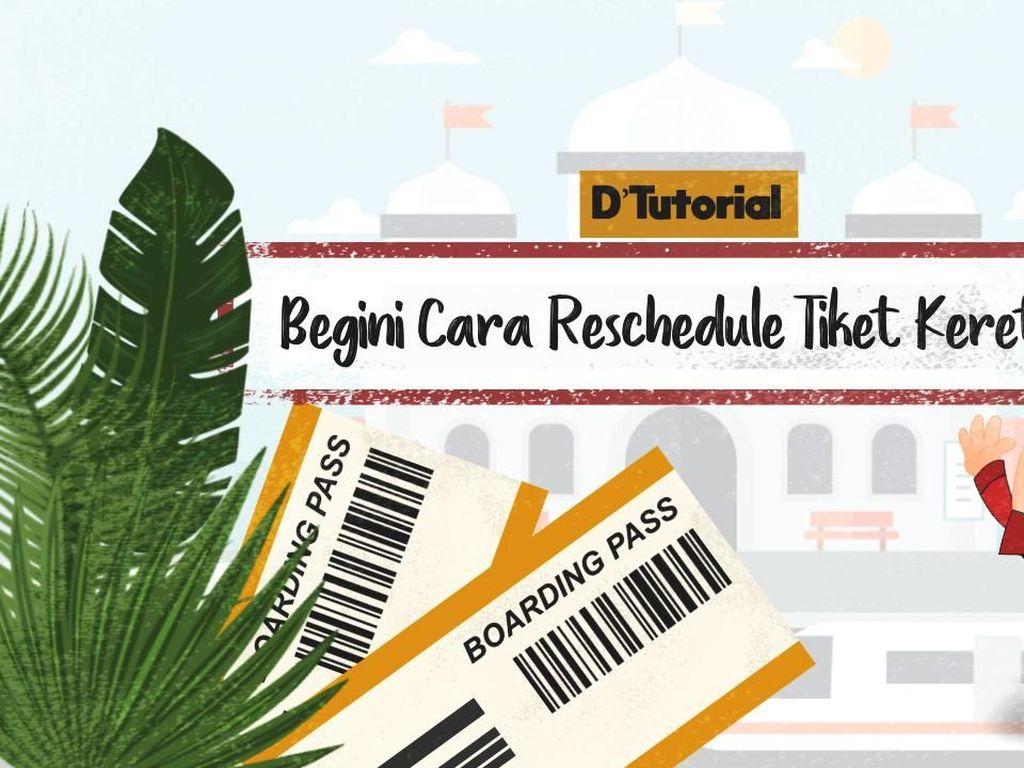 DTutorial, Cara Reschedule Tiket Kereta