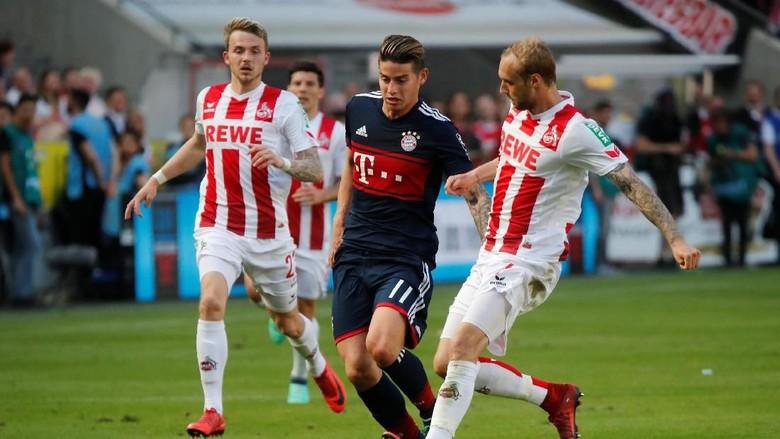 Tertinggal Lebih Dulu, Bayern Atasi Cologne