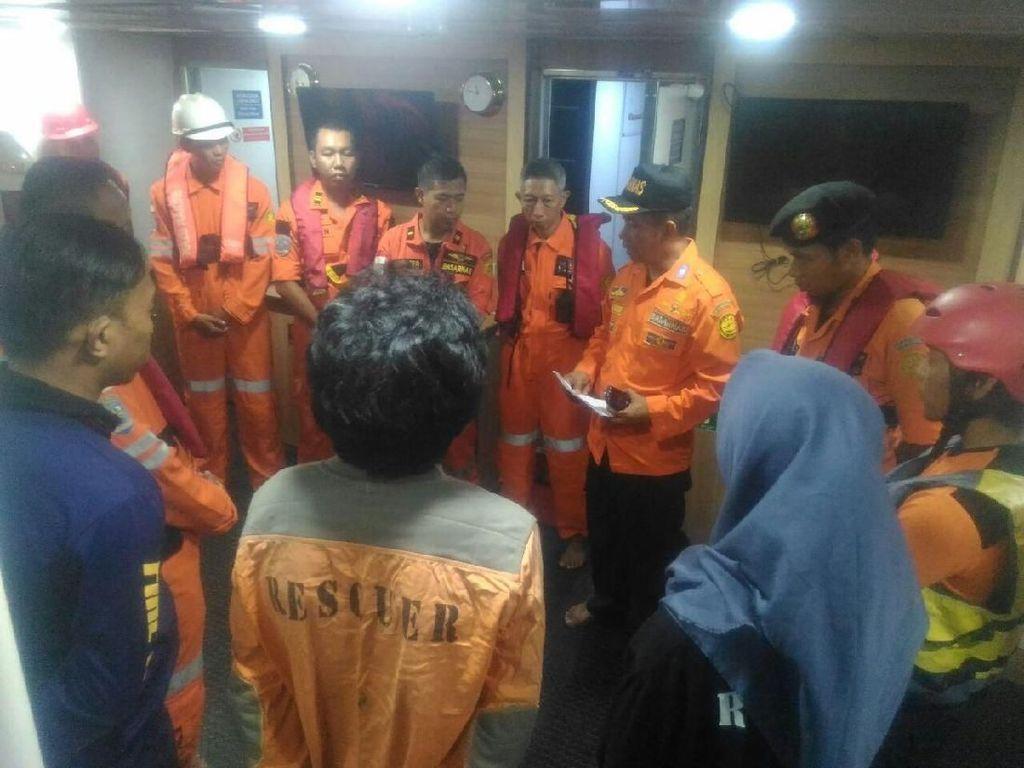 Kapal Pengangkut Ikan dari Kalimantan Tenggelam di Selat Makassar