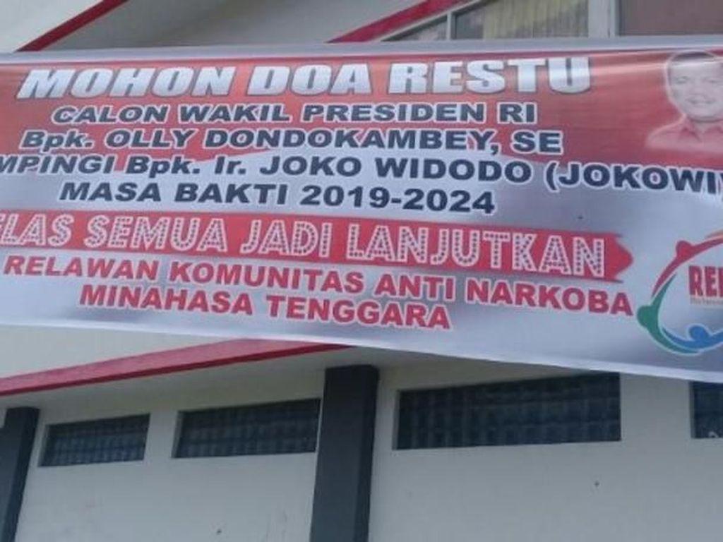 Gubernur Sulut Olly Dondokambey Disorongkan Jadi Cawapres Jokowi