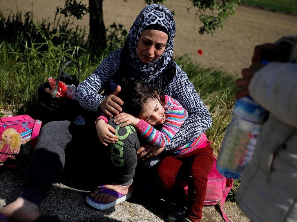 Begini Perjuangan Imigran Suriah Mencari Suaka Hingga Yunani