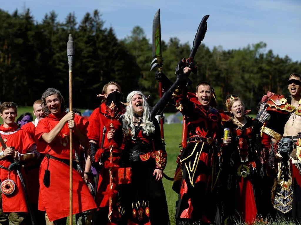 Intip Keseruan Parade Game World of Warcraft di Ceko