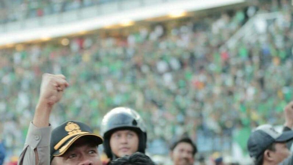 Bonek Sempat Ricuh, Polisi: Pertandingan Persebaya VS Arema Sukses