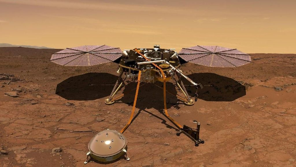 Foto: Robot InSight NASA Meluncur ke Mars