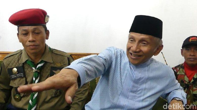 Amien Rais: Kalau Ada Kader PAN Dukung Jokowi, KLB!