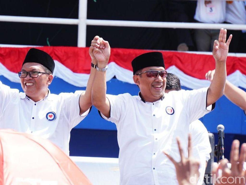 Hitung Cepat KPU 100 Persen, Oded-Yana Menang Pilwalkot Bandung