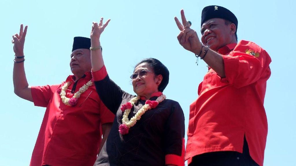 Megawati Hadiri Kampanye Akbar Tb Hasanuddin-Anton Charliyan