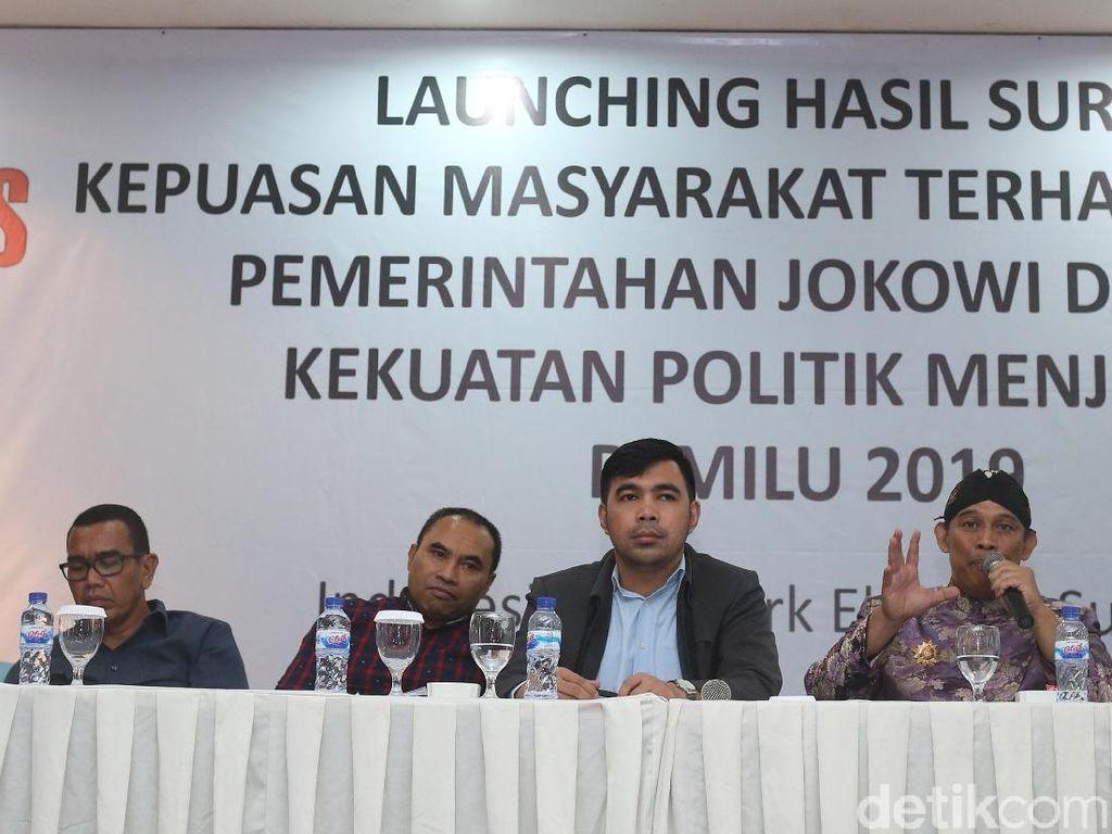 Survei INES, Prabowo Menang Lawan Jokowi