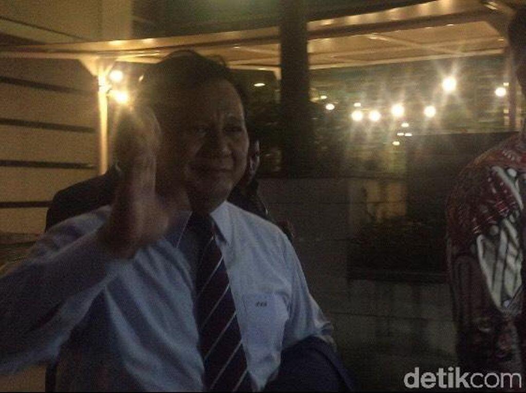 Prabowo juga Hadiri Resepsi Putri Tutut, Bertemu Jokowi dan SBY?