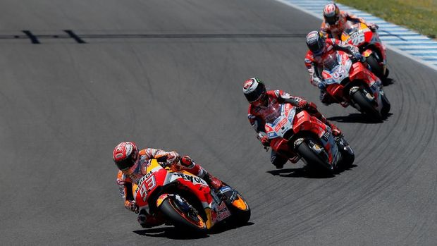 Marc Marquez dan Jorge Lorenzo merupakan dua pebalap yang memiliki gelar juara seri terbanyak di musim balap 2018.