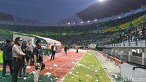 Cegah Ricuh Suporter, Polisi Minta Jalan Masuk Stadion Dilebarkan