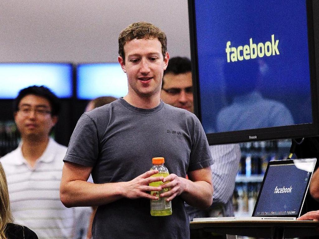 Mark Zuckerberg Kapok Bikin Resolusi Tahun Baru