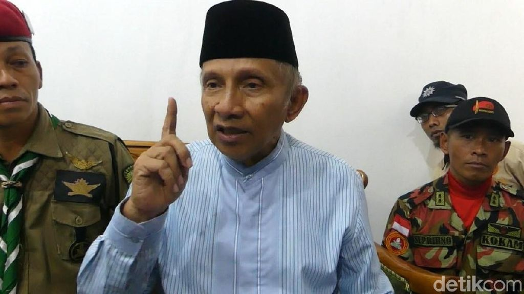 Kontroversi Amien Rais Yakin Allah Lengserkan Jokowi