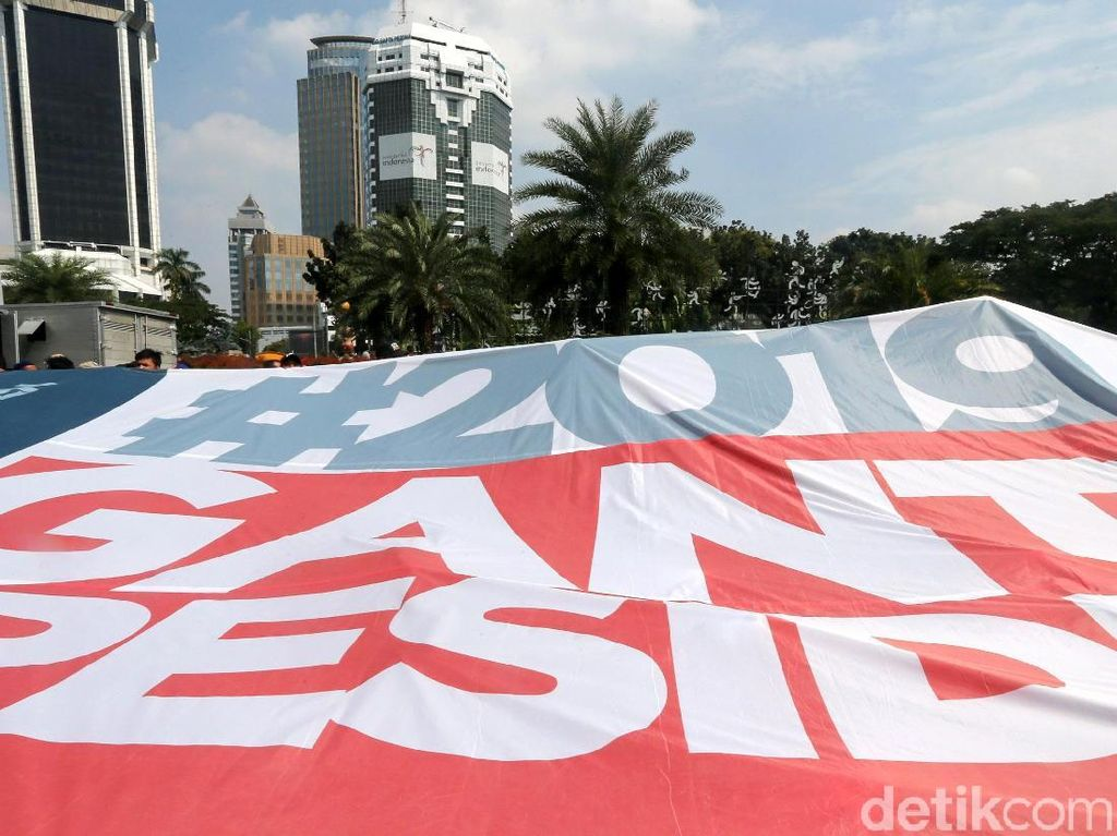 Akbar Tandjung: Tak Ada Alasan Bubarkan Aksi #2019GantiPresiden