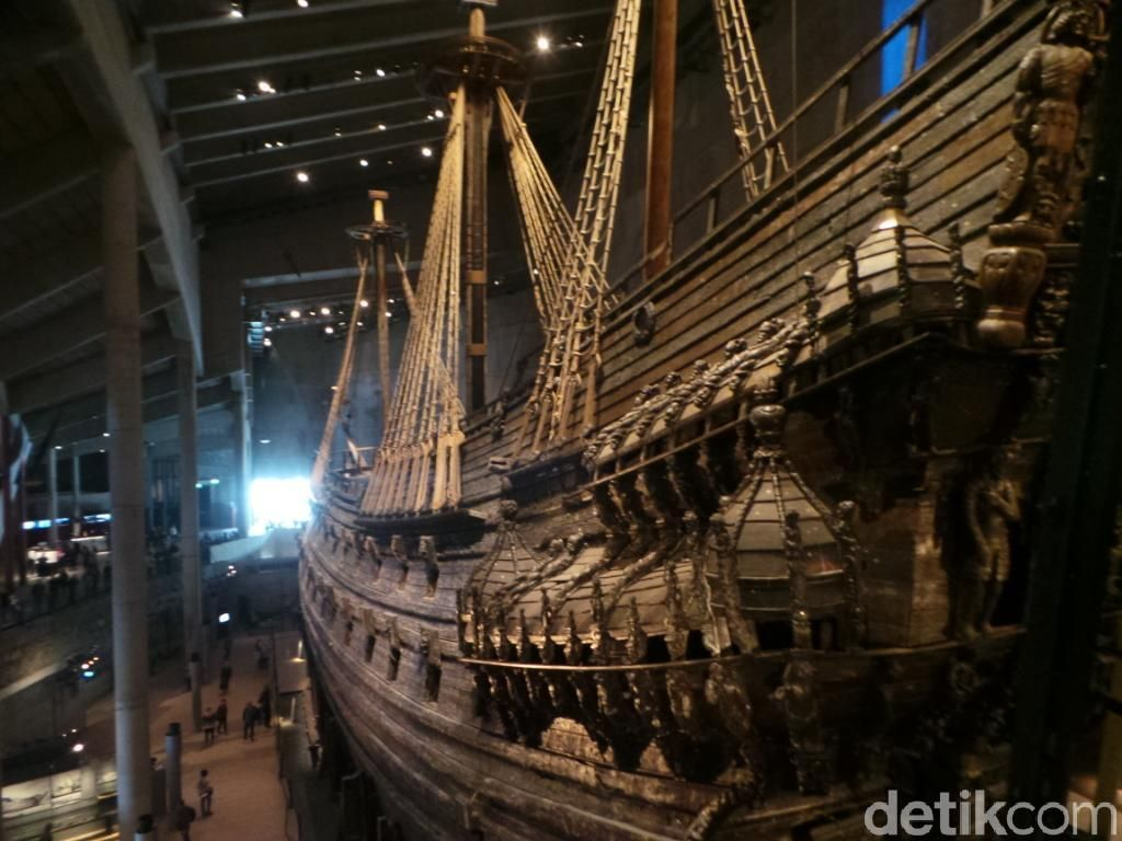 Potret Vasa, Kapal Perang Swedia yang Berusia 390 Tahun