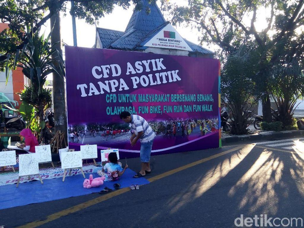Kegiatan Politik di CFD Solo Bakal Dibubarkan