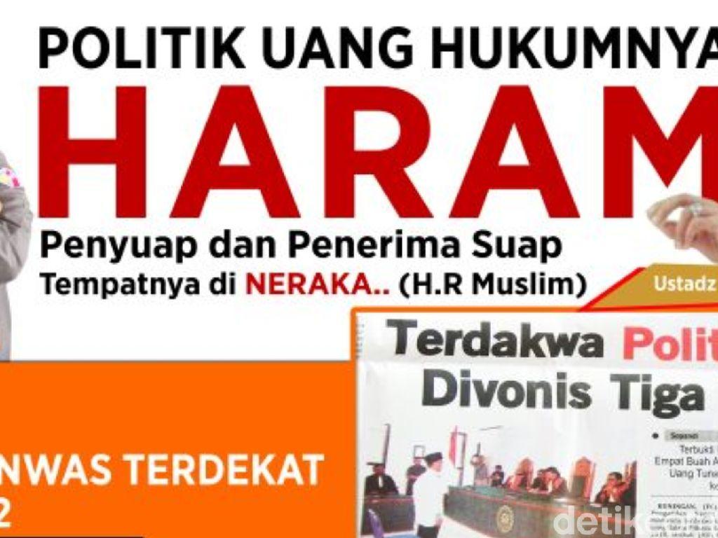 Cegah Politik Uang, Bawaslu Riau akan Pasang Spanduk Ustaz Somad
