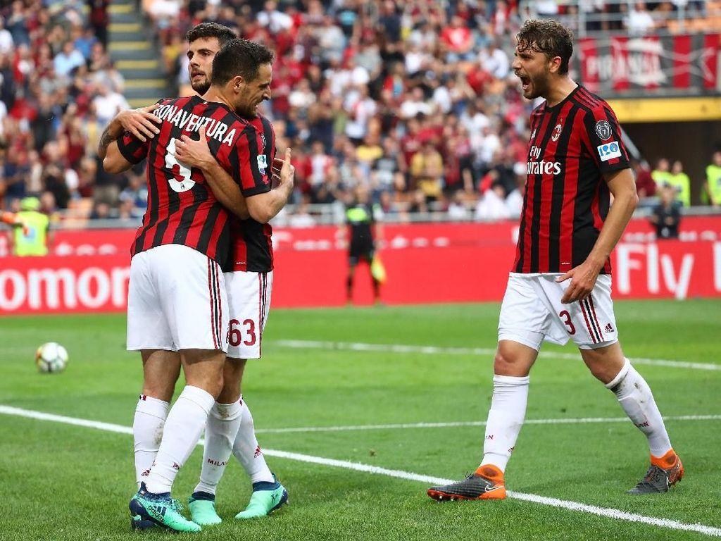 Modal Bagus Milan Hadapi Juventus