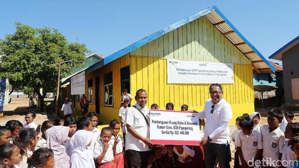 Dukungan untuk Renovasi Sekolah di Timur Indonesia