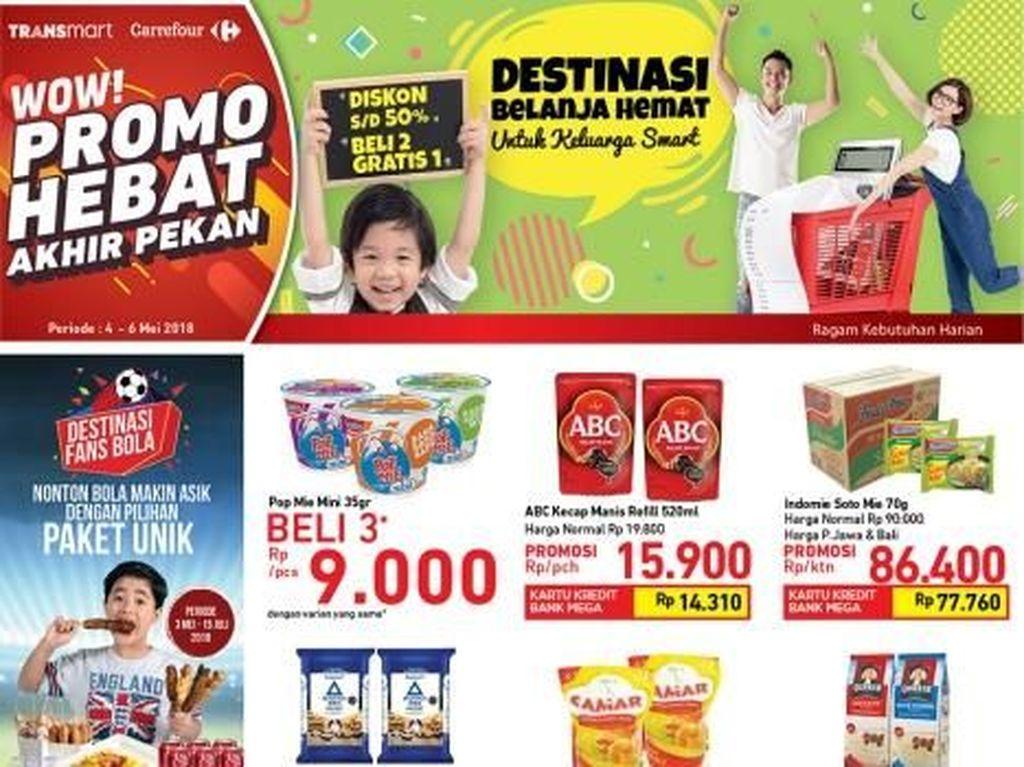 Promo Camilan Beli 2 Gratis 1 di Transmart Carrefour