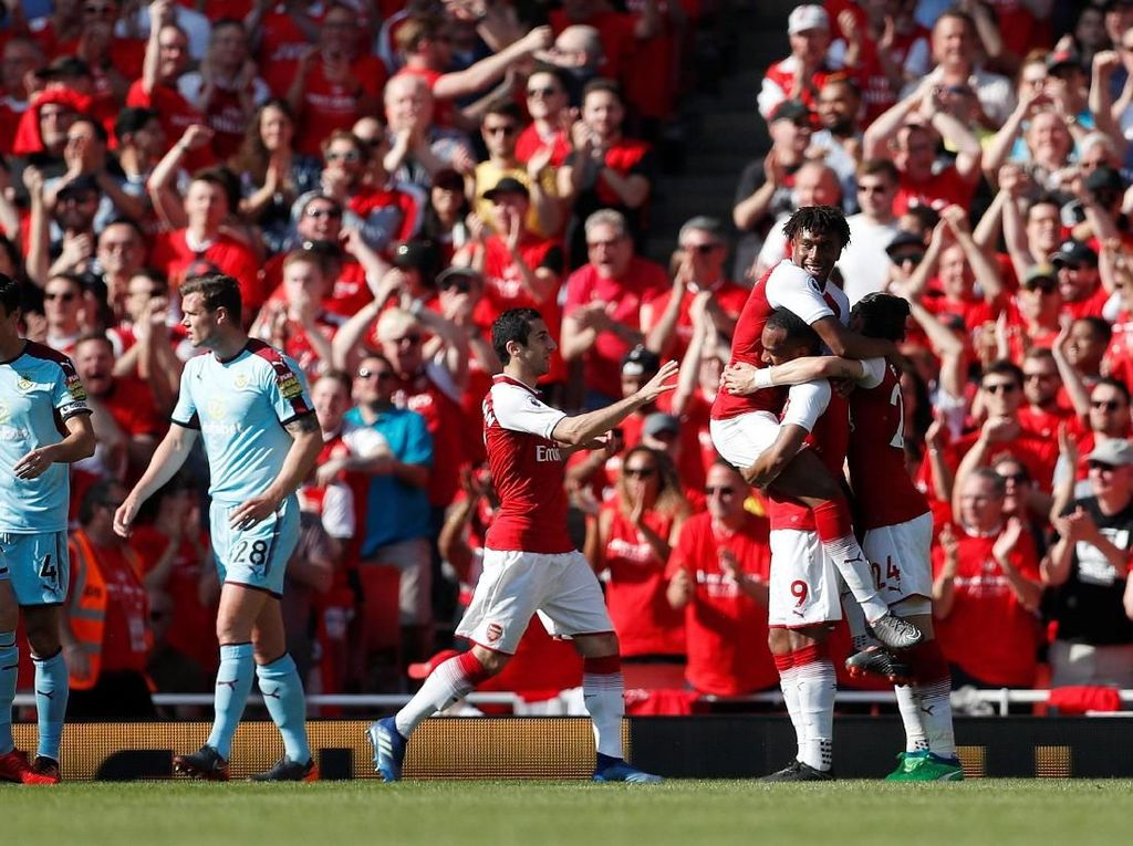 Arsenal Pesta Gol di Laga Kandang Terakhir bersama Wenger