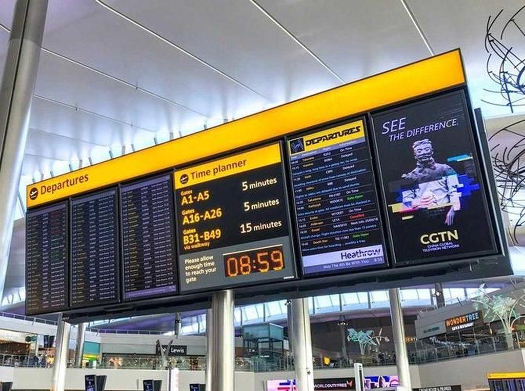 Waduh, Bandara Heathrow Punya Penerbangan ke Dunia Star Wars?