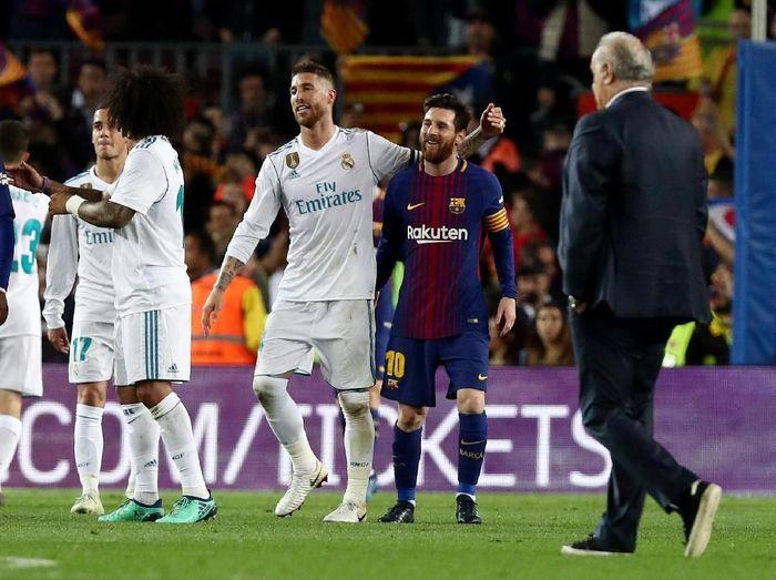 Mau nonton Real Madrid vs Barcelona langsung di Spanyol? detikcom yang bayarin deh (Sergio Perez/Reuters)