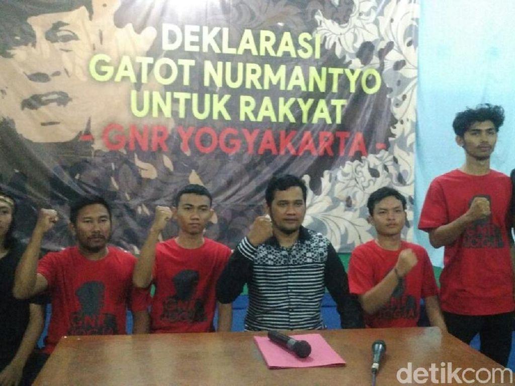 Elemen di Yogya Deklarasikan Gatot Nurmantyo Jadi Capres