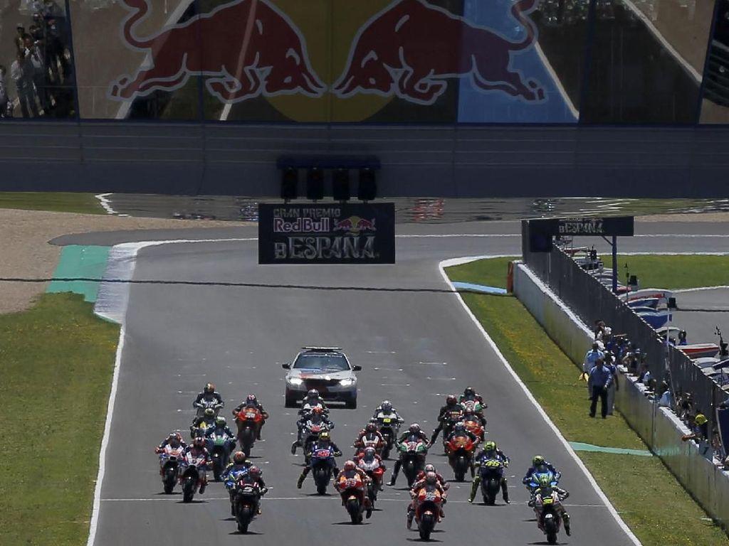 Jadwal MotoGP Spanyol di Sirkuit Jerez Akhir Pekan Ini