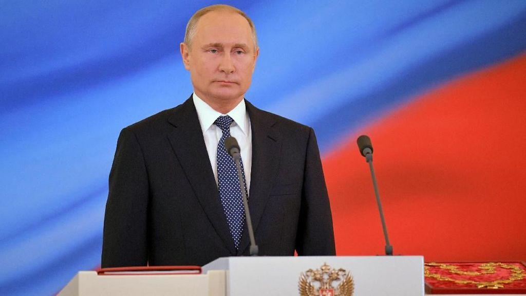 Foto: Putin Dilantik Jadi Presiden Rusia untuk Periode Keempat