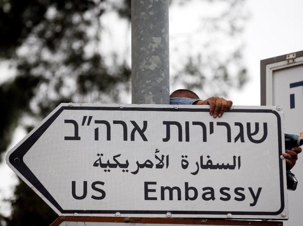 AS Gabungkan Misi untuk Palestina dengan Kedubesnya di Yerusalem