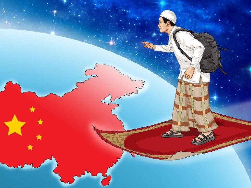 Santri Zaman Now Belajar ke China