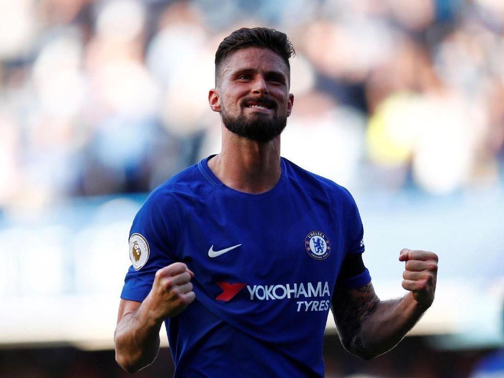 Tolak Marseille, Giroud Ingin Awet di Chelsea