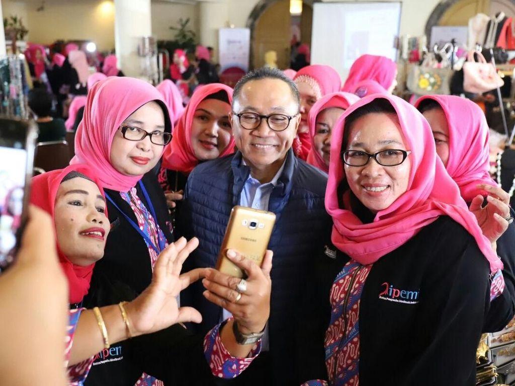 Soal Bisnis, Ketua MPR Ajak Pengusaha Muslimah Tiru Siti Khadijah